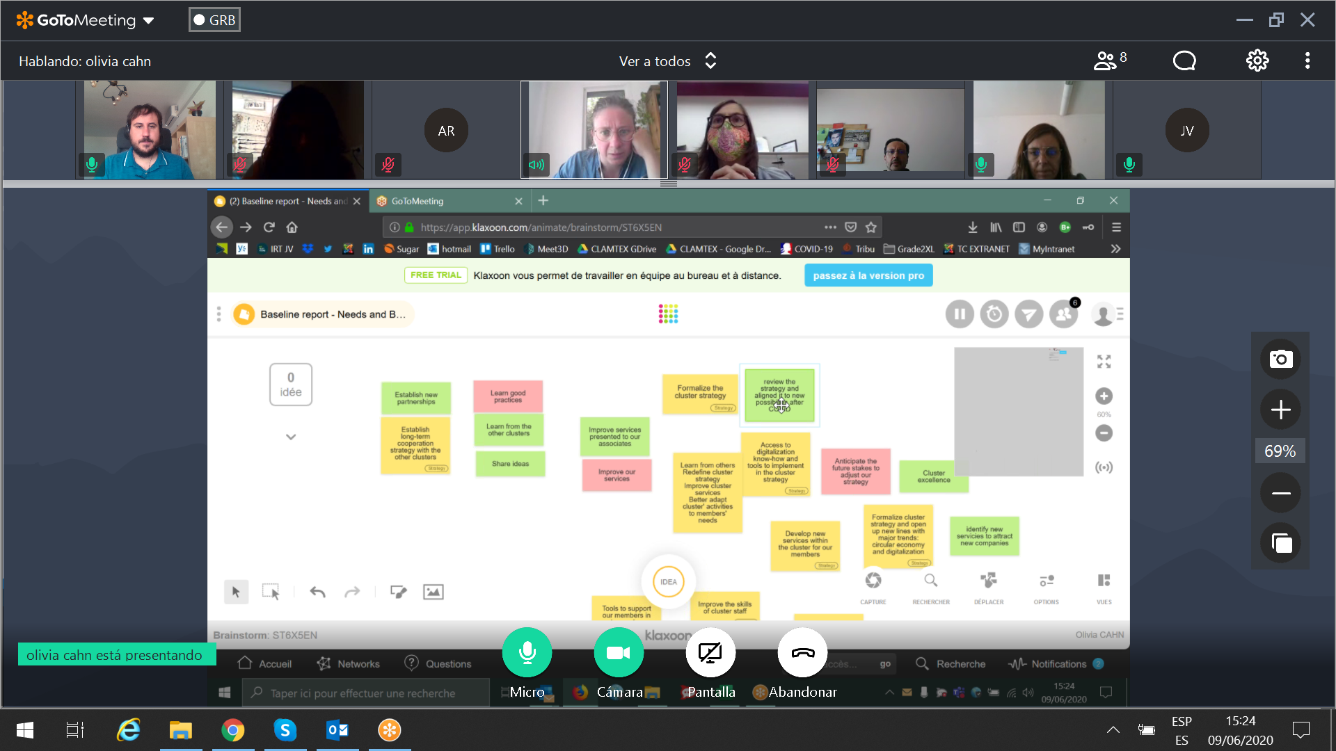 CLAMTEX PARTNERS HELD A VIRTUAL WORKSHOPS FOR INTERNAL BENCHMARKING